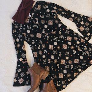 Xhilaration Pattern Dress